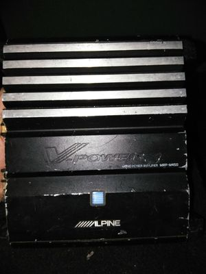Alpine amp for Sale in San Diego, CA
