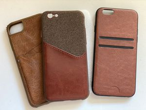 iPhone 6 leather cases (valet) for Sale in Sacramento, CA