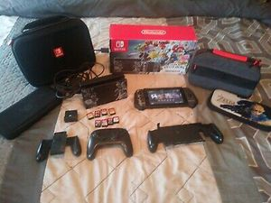 Nintendo Switch - Super Smash Bros. Ultimate Edition Console Bundle With Extras for Sale in Fresno, CA