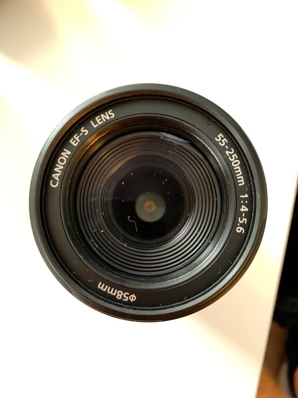 Canon EFS 55-250 mm