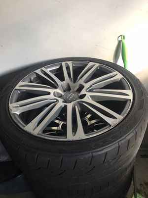 20 inch audi rims. And tires Audi A7 for Sale in Piscataway, NJ