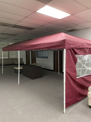 Brand New 10x20' ft eazy pop up no assemble Canopy Tent Shade Outdoor for Sale in Fullerton, CA