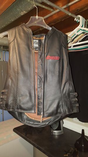 Icon Street Angel Motorcycle Vest for Sale in Sauk Village, IL