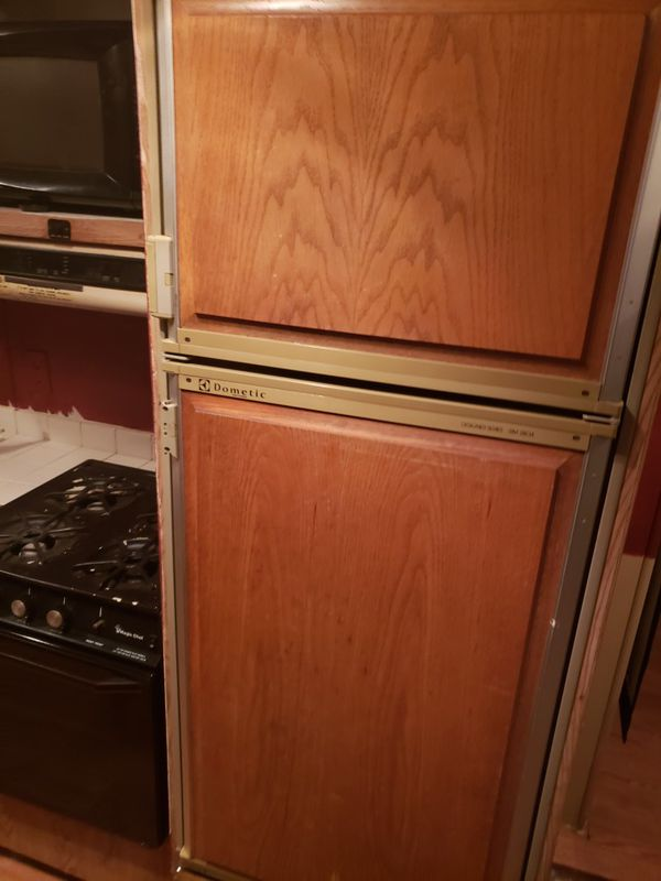Rv trailer refrigerator and freezer