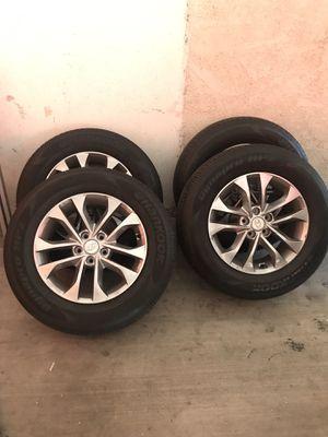 2019 Hyundai Santa Fe Rims and Tires 235/65R17 for Sale in Glendale, CA