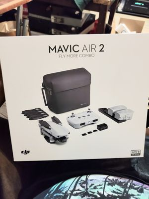 """DJI Mavic Air 2 Fly More Combo - Drone Quadcopter UAV with 48MP Camera 4K Video 1/2"""" CMOS Sensor 3-Axis Gimbal 34min Flight Time for Sale in Queens, NY"""