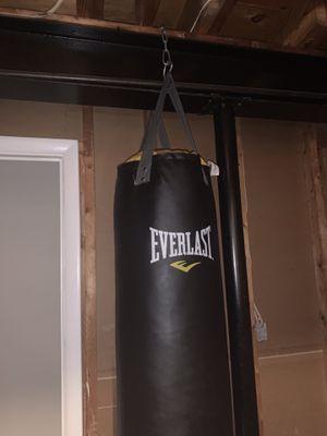 Everlast punching bag for Sale in Glenarden, MD