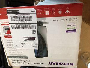 Net gear dsl modem router for Sale in Bensenville, IL