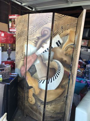 Music divider house decoration for Sale in Los Angeles, CA
