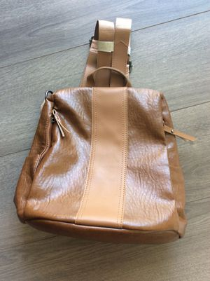 Brown leather Backpack $25 for Sale in Washington, DC