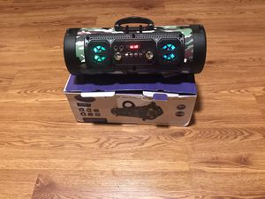 Bazzoka Wireless Portable Bluetooth Speaker Super Bass Stereo Radio Music HIFI FM TF AUX for Sale in MD CITY, MD