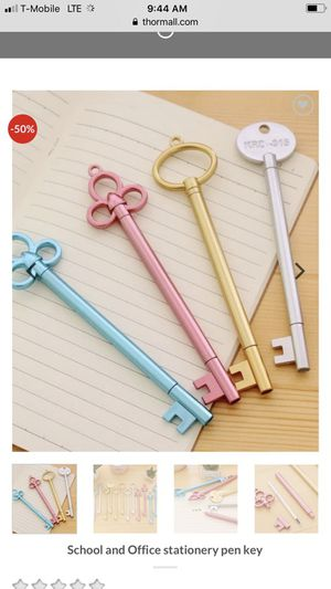 School and Office stationery pen key By From thormall.com for Sale in Orlando, FL