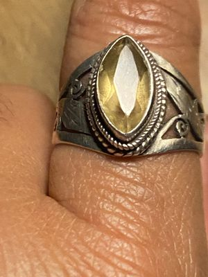 SILVER RING WITH STONE for Sale in Brentwood, CA