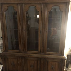 Large China Cabinet for Sale in Libertyville, IL