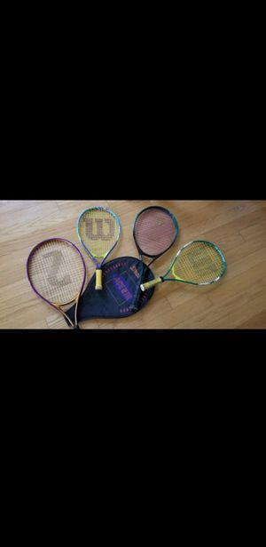 ALL KID TENNIS RACKETS for Sale in Placentia, CA