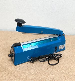 "New $15 each 8"" Heat Sealing Impulse Manual Sealer Machine Poly Tubing Plastic Bag Teflon for Sale in El Monte, CA"