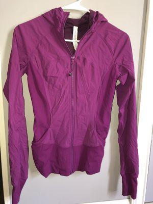 Lululemon Reversible Purple Dance Studio Asana Hoodie Jacket for Sale in Staten Island, NY