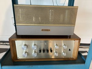 Vintage Marantz 8 & 7b Audiophile Tube Stereo - HIFI - amplifier and Preamplifier for Sale in Playa del Rey, CA