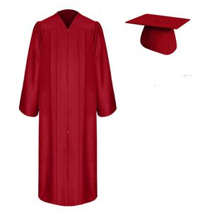 Graduation Cap, Gown the color red and black for Sale in Richmond, CA