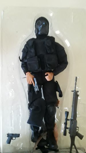 Heavily articulated large scale collectable toy soldier for Sale in Corona, CA