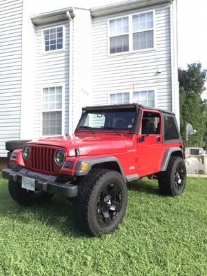 2002 Jeep Wrangler · SE Sport Utility 2D Manual 5 speed for Sale in Fort Washington, MD