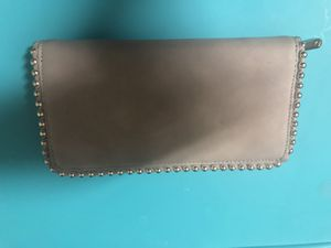Charming Charlie Grey Wallet for Sale in Las Vegas, NV