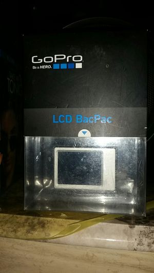 Gopro LCD BacPac NEW for Sale in Collinsville, IL