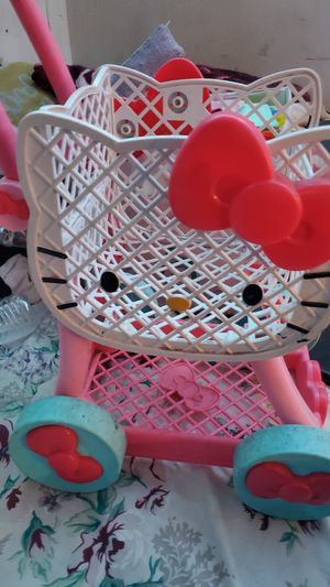 Hello kitty car for toddlers. $12 for Sale in Santa Ana, CA
