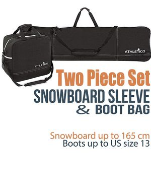 Snowboard & Boots Travel Bag - Carrying Case for Sale in Seattle, WA