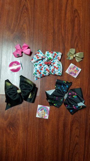 Jojo siwa bows and stickers bundle for Sale in Arcadia, CA