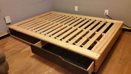 Full Platform Bed With Storage for Sale in Philadelphia,  PA