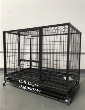 Dog pet cage kennel size 43 large folding new in box 📦 for Sale in Claremont, CA