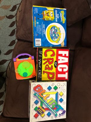 Board games for kids for Sale in Issaquah, WA