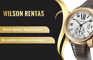 Watch battery replacement/ se cambian baterías de reloj for Sale in Tampa, FL
