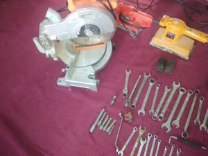 Table saw and assorted of tools for Sale in Columbus, OH