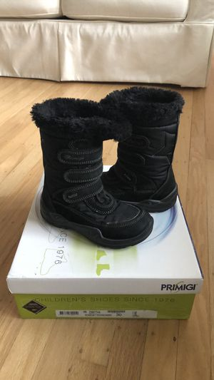 Primigi Italian waterproof boots toddler size 12 for Sale in Mill Valley, CA
