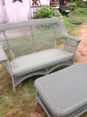 Resin wicker patio furniture for Sale in Medfield, MA