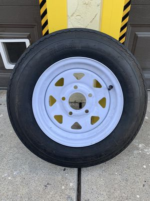 Trailer tire in excellent condition for Sale in San Diego, CA