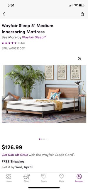 Brand new twin mattress for Sale in Rockville, MD