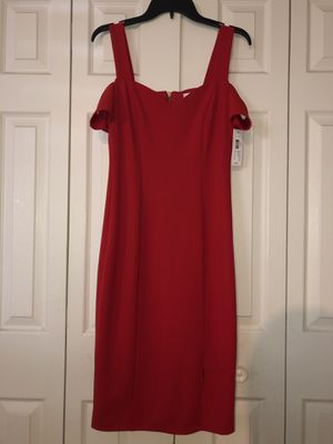 Red sleeveless zip up dress for Sale in Las Vegas, NV
