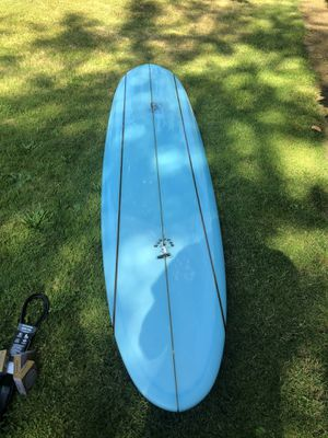 "Longboard surfboard surf board Murdey 8'2"" mini log surfing for Sale in Portland, OR"