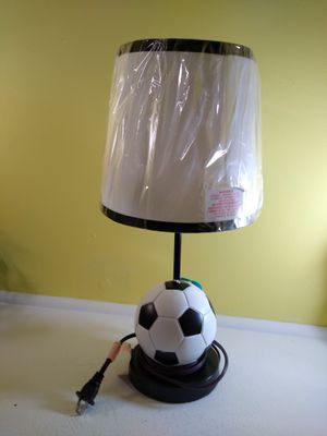 Soccer Ball Lamp for Sale in Grand Rapids, MI