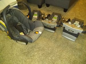 Car seat 3 bases for Sale in Costa Mesa, CA