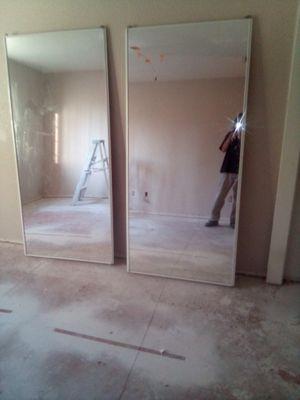 Sliding mirror closet doors for Sale in Modesto, CA