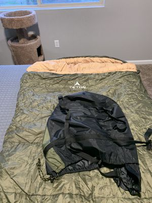Teton XXL 0 Degree Sleeping Bag for Sale in Denver, CO