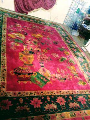 "Antique Oriental ""art deco"" rug/carpet for Sale in Las Vegas, NV"