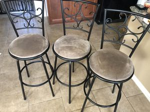 Bar Stools (3) for Sale in Buda, TX