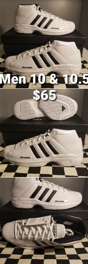 Adidas Pro Model 2G Cloud White EF9824 Basketball Shoes for Sale in Pomona, CA