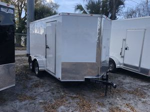 2019 7x12 TA Enclosed Trailer Cynergy Ramp for Sale in Tampa, FL
