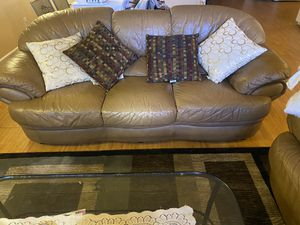 Leather Couch for Sale in Woodbridge, VA